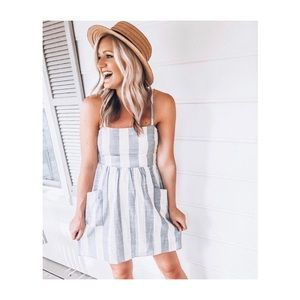 Stripe Cotton Sundress
